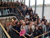 Begrüßung von 98 Erstsemestern an der Hochschule der DGUV