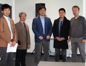 Delegation aus Korea besucht die HGU