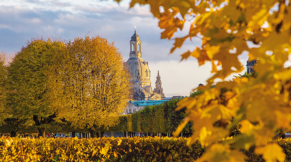 Autumn in the Great Garden in Dresden - Photo: Frank Exß