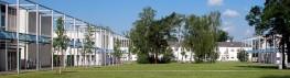Blick auf den Campus der DGUV Akademie