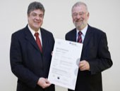 DGUV Test awards first certificate for