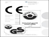 Vergleich von Prüfzeichen und CE-Kennzeichnung