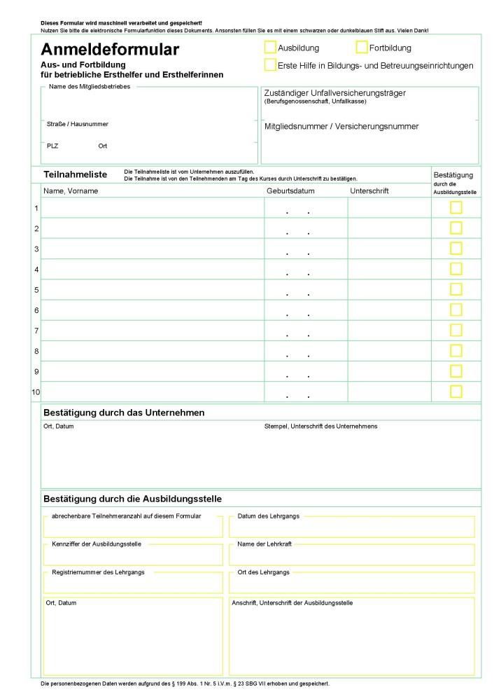 Charmant Vorlage Für Das Registrierungsformular Ideen - Entry Level ...