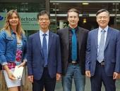 Südkoreanische Delegation in Hennef