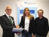 Berufung von Dr. Caroline Lüder auf die Professur Rehabilitation und Teilhabe