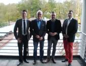 Staatsminister Michael Roth engagiert sich bei studentischem Forschungsprojekt