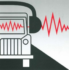 Grafic: Car wearing hearing protection equipment
