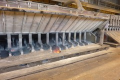 Picture of an eletrolysis furnace