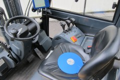 Tractor with transducer disc and display