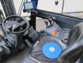 Foto: Messscheibe auf Fahrersitz (© IFA)