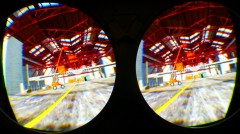 Stereo view in HMD