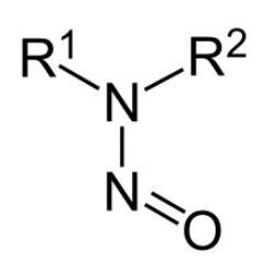 Strukturformel Nitrosamine