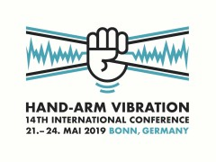 Logo: Eine Hand in Vibration