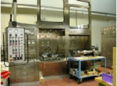 Hydraulic component test bench