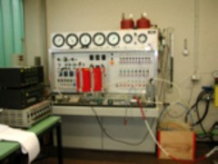 Pneumatic component test bench