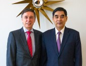Chinese Labour Minister - ZHANG Jinan – visited the DGUV