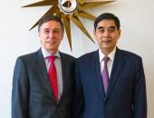Dr. Breuer and ZHANG Jinan