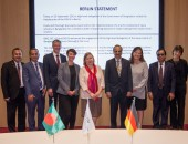 Group picture of Delegation from Bangladesh and German representatives