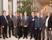 Gruppenfoto der Delegation, © DGUV