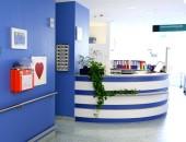 Empfangsbereich der Unfallklinik Ludwigshafen