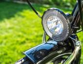 Bild einer Fahrradlampe