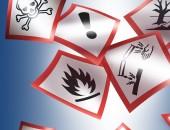 Bilder von Gefahrstoffsymbolen