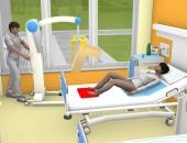 Bild eines Krankenzimmers