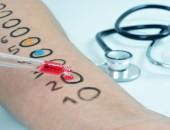 Bild von einem Arm, auf dem ein Allergietest durchgeführt wird