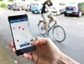 Handy mit der Web-App