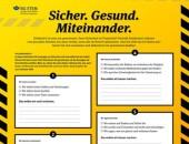 Plakat Fragenkatalog der BG ETEM