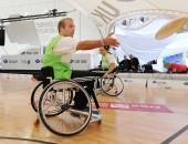 Bild von Basketballspielern im Rollstuhl