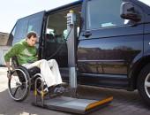 Mobil trotz Behinderung - mit umgebautem Auto. (Bild: Katja Nitsche / UK Nord)