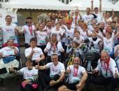 R(h)ein Inklusiv mit 21 Staffeln beim Marathon dabei