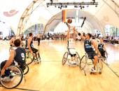 Spiel, Sport und Informationen bei Rollstuhlbasketball-Weltmeisterschaft