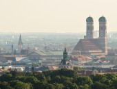 Bild: Panoramafoto von München