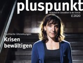 Bild: Titelseite der DGUV Pluspunkt 1-2020