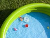 In der Kita ohne Risiko im Wasser planschen