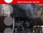 Titelblatt Branchenregel Hygiene und Kontaminationsvermeidung bei der Feuerwehr