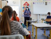 Masks in schools: social accident insurance protection applies