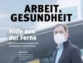 Foto: Titelseite der Zeitschrift: Sicherheitsbeauftragter mit Maske