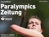 Paralympics Zeitung erscheint zum Start der Paralympischen Spiele in Tokio