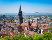 Blick auf Freiburg; © magann – stock.adobe.com